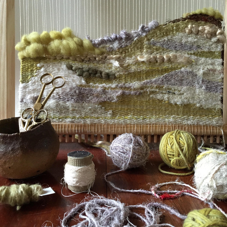 Ellie Beck Petalplum - Loom Weaving