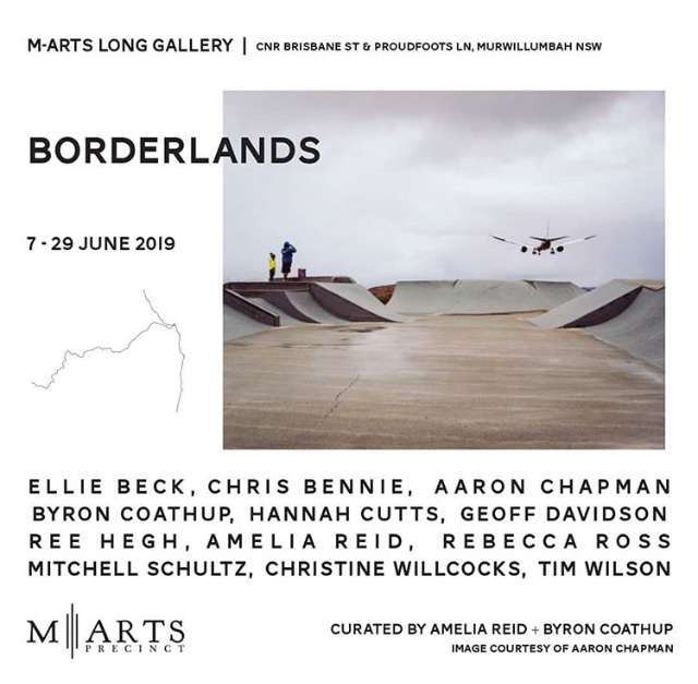 Borderlands exhibition Murwillumbah
