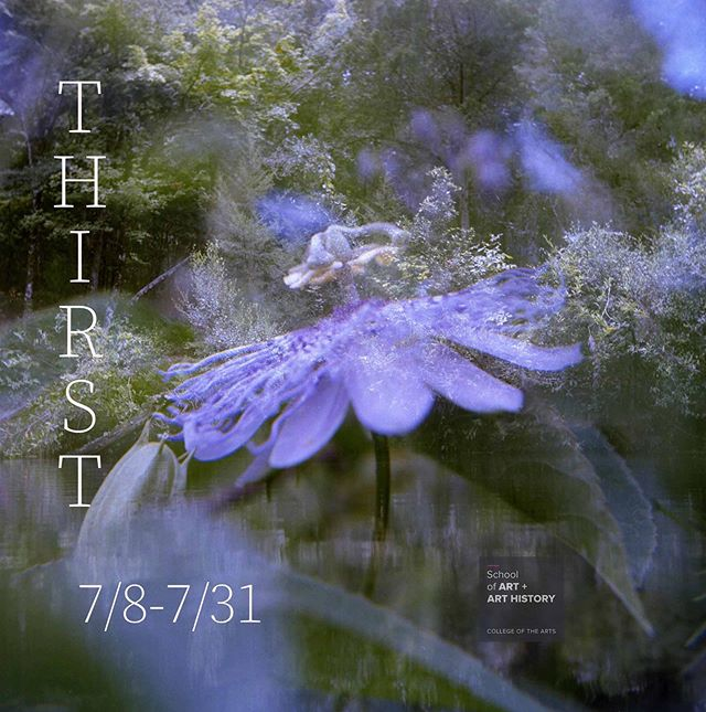 THIRST by @beckyfrankeee ~ reception this Friday 7pm ~ link in the bio. . . THIRST is a photography exhibition characterized by the convergence of analog processes, narrative, and the nature of traveling by foot. The accounts accompanying the photographs extend from the human perspective into the Floridian landscape, examining the environmental processes and natural features of the land, as connected to the individuals living and traversing here. The images, created with an inherited twin-reflex camera, reflect the complexity of Florida's melancholic beauty and its estranged occupants.