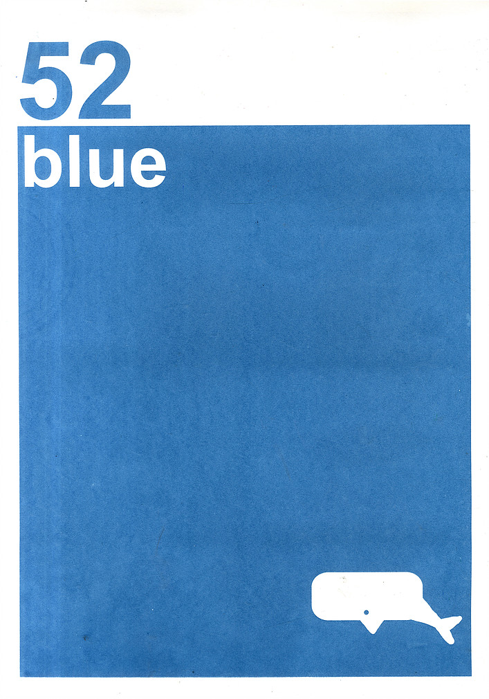 HAM Illustration, 52 Blue.
