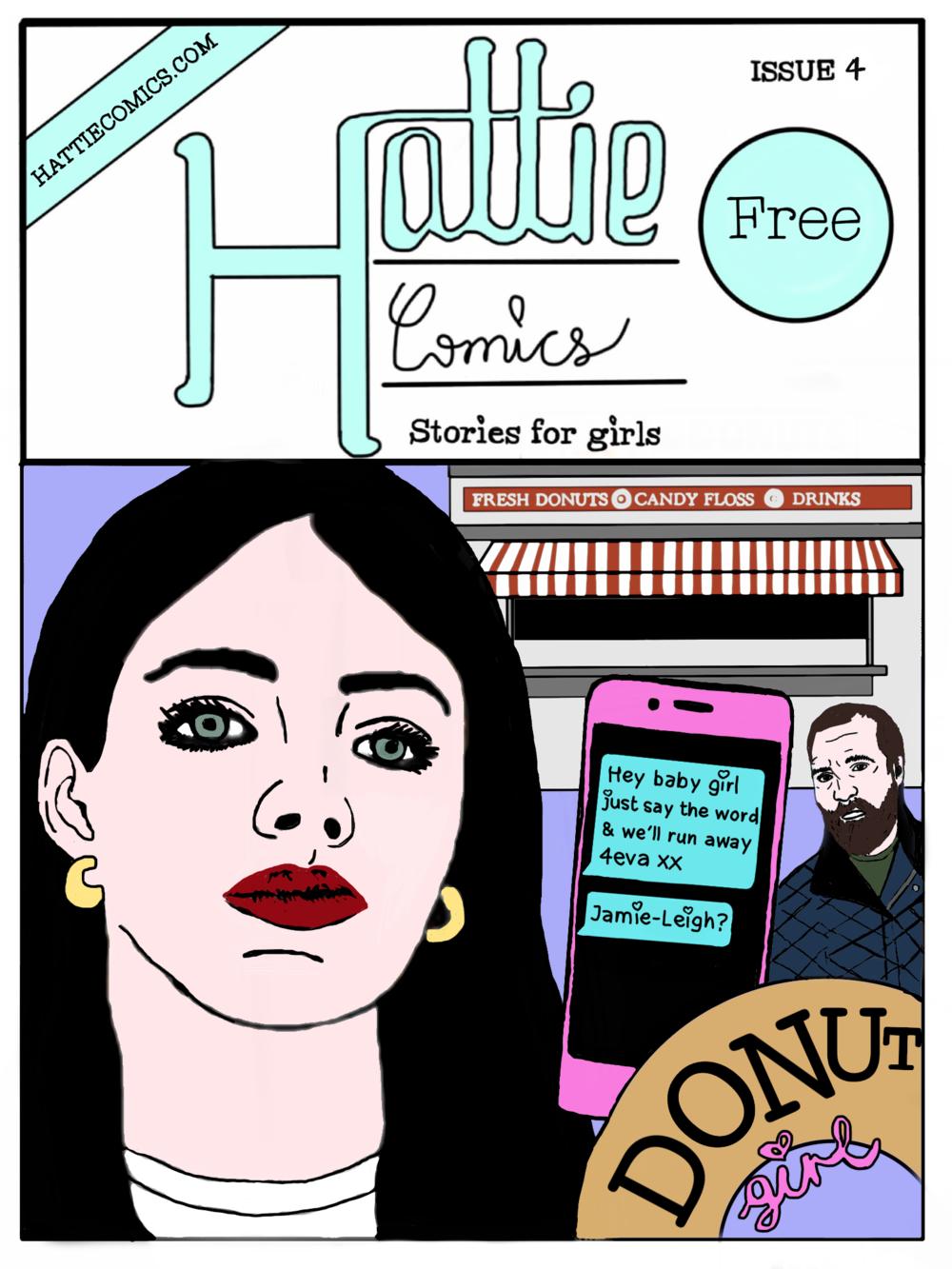 Hattie Comics, Stories for Girls, Issue 4.