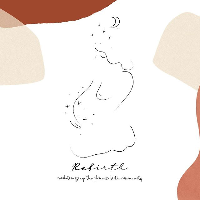 "Rebirth is just around the corner and it feels unreal. A project created to revolutionize the Phoenix birthing community and give the power back to the child-bearer when it comes to making the best birthing choices for them and their family. It is never to early to start educating yourself on birth options and especially in the current state of our prenatal care system.⠀ ⠀ We are excited to announce that on October 20th, you can join birth workers and community alike as we share an intimate dinner and ignite conversation on ""alternative"" birth options that are available within our community. Learn about:⠀ Midwifery Care from @amothersworth⠀ Doula Services from @p.s.lovemommy + Kierra Otis ⠀ and the realities of hospital birth with @drwest_obgyn⠀ ⠀ All over a candlelit dinner sponsored by @freakbrospizza and open dialogue. Then connect with us as we enjoy a kombucha hour sponsored by @drinkwildtonic + a pop-up market of all local and momma-made products. ⠀ ⠀ All proceeds will go to benefit The Phoenix Birth Foundation -- a non-profit organization that offers midwifery care + education to Indigenous womxn in our community. Tag a friend and get ready for a beautiful night of connection, conversation and change. Tickets go on sale TOMORROW!! ⠀ ⠀ Art work is by the incredible Blaise Danio for our Rebirth goodie bags that all attendees will receive at the event! Get your tickets now. ⠀ ⠀ #birtheducation #birthdoula #doulacare #doula #postpartum #birtheducator #birth #empoweredbirth #uncensorbirth #midwife #midwiferycare #midwifery #obgyn #reproductivehealth #reproductivejustice"