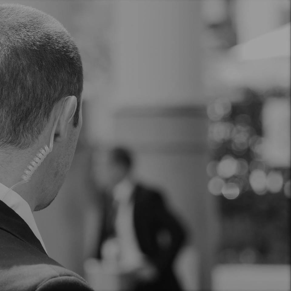 Executive/ Close Protection Services - We offer high-profile clients, senior executives, families, and private individuals with a variety of close protection services ranging from journey management for the traveler, venue surveys, risk assessments and surveillance, and estate security management.