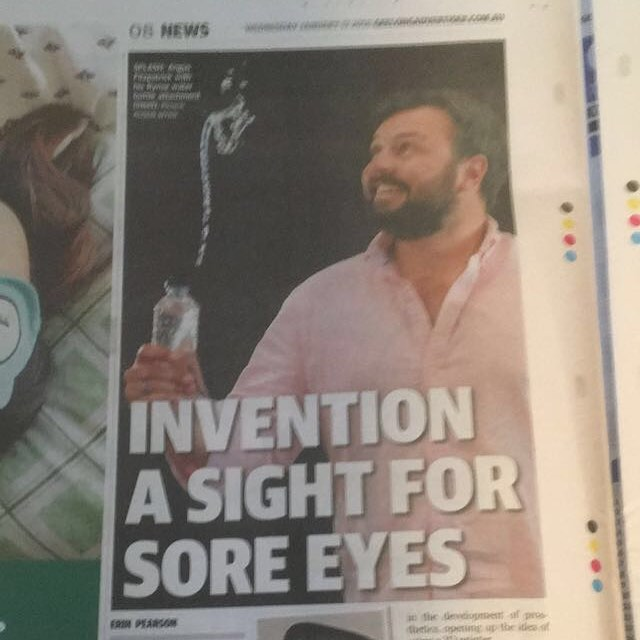 It is always nice to see a news article that isn't about something negative, it's even better when it's about you! Thanks @geelongaddy for the article, and thanks @runway_geelong for all of the help! #startup #eyecare #medtech #entrepreneur #accelerator