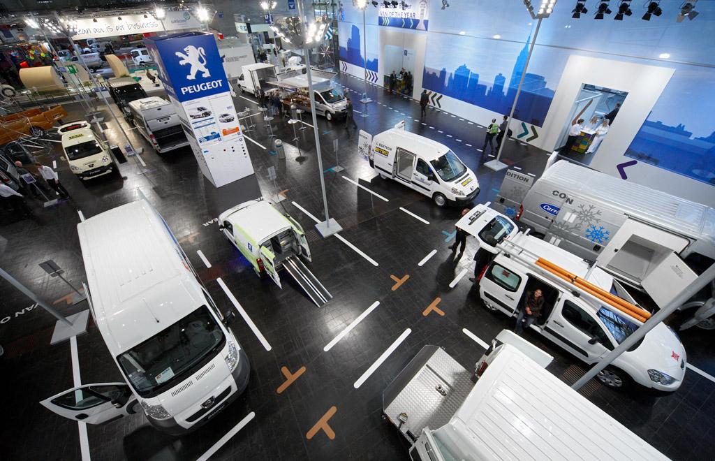Peugeot auf der IAA Nutzfahrzeuge / Messestand / uniplan