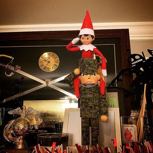 Jack supports the troops. . . . 🎧Listen to the #YearOfTheVet 🇺🇸podcast🎙wherever you listen to #podcast! Or click the link in my bio @YearOfTheVet to listen to it on the website!🦅👌🏽 . . . #ElfOnAShelf #Christmas #TheHappiestTimeOfTheYear #Subscribe #USMCVeteran #veteran #veterans #vet #vets #military #MarineCorpsVet #NavyVet #ArmyVet #AirForceVet #CoastGuardVet  #coastguardveteran #armyveteran #navyveteran #airforceveteran #MarineCorpsVeteran  #USMC #ElfOnTheShelf #Elf #son #SantasElves