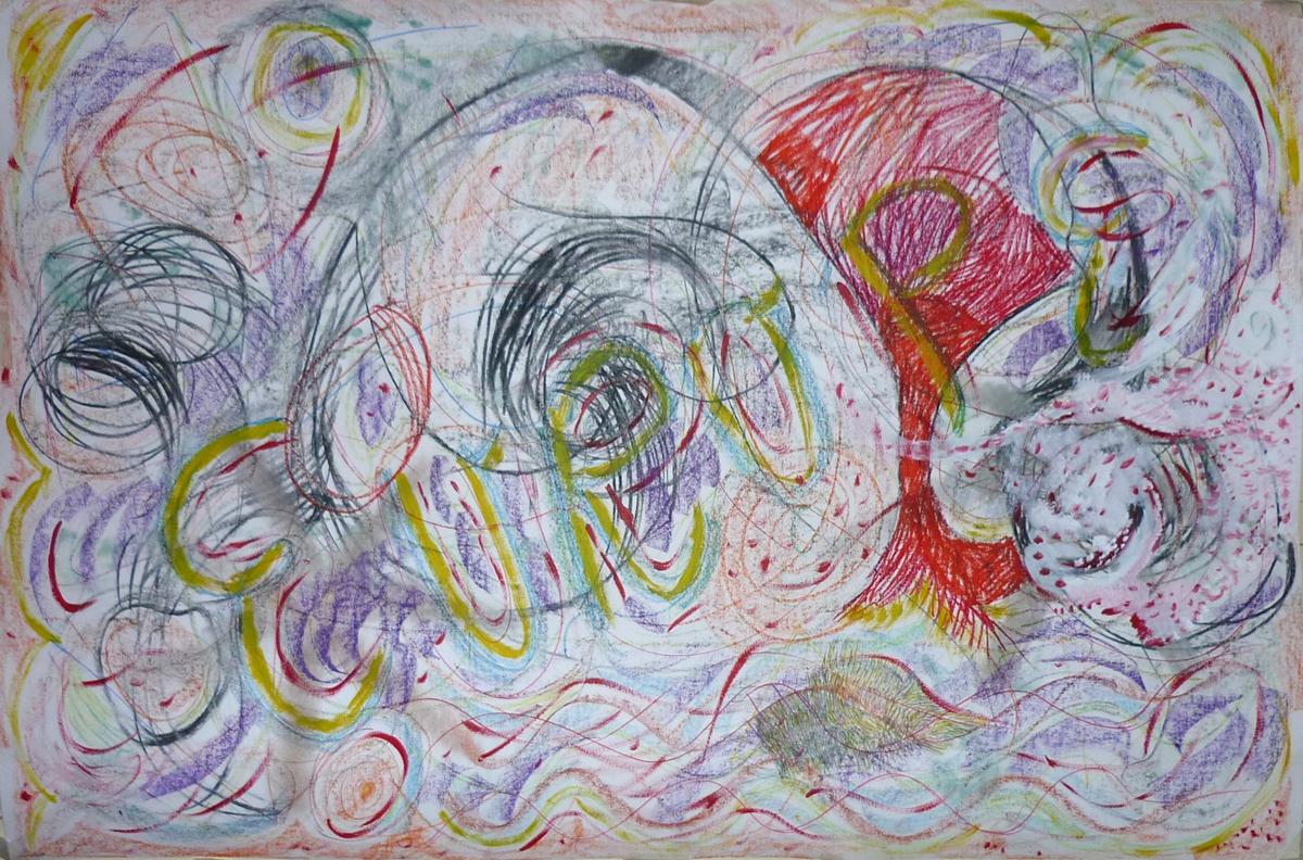 dessin commun / collaborative drawing