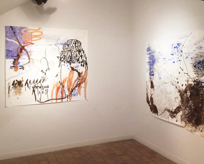 exposition des ateliers de la rue Voot à la Médiatine en mai 2017