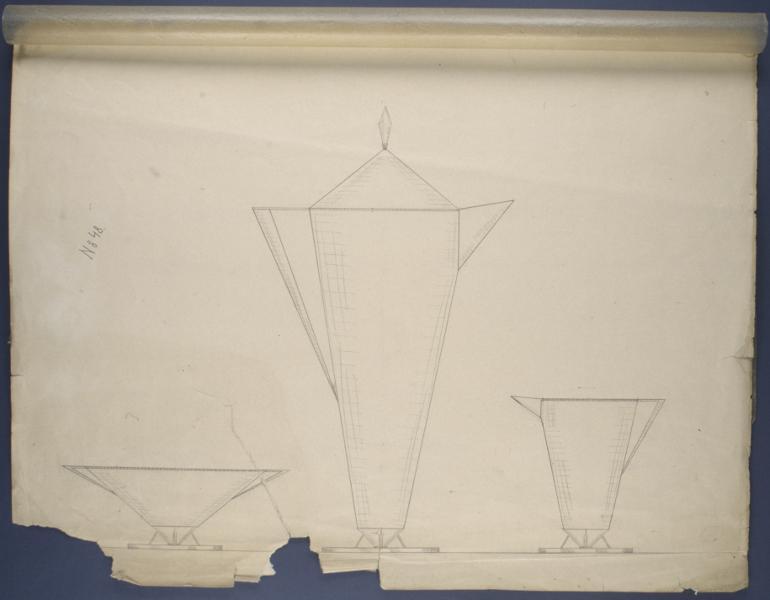 Wiwen NIlsson's exhibits in Gotherburg in 1923. Photo:  Kulturen in Lund archive