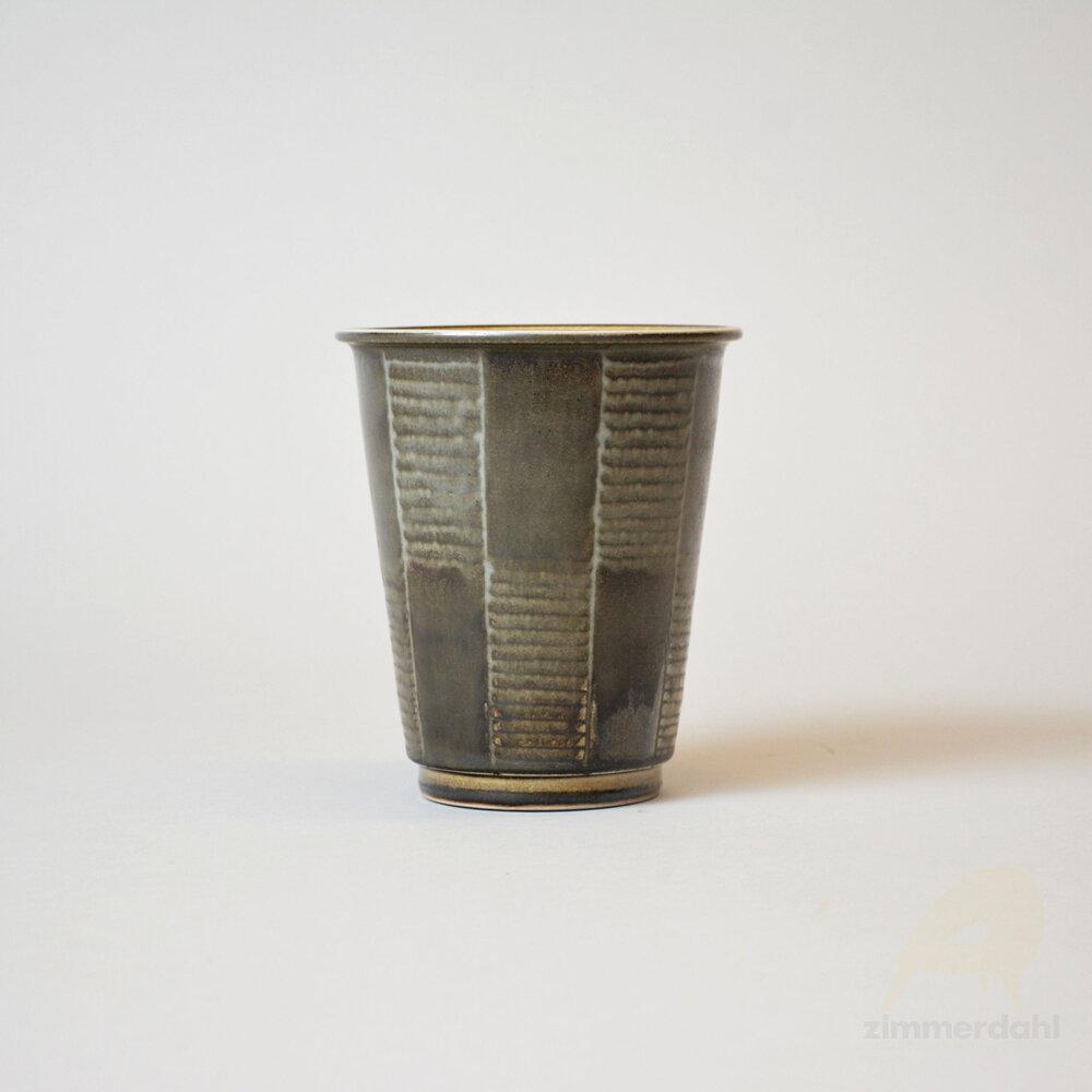 Beautiful Vintage Smooth Angled Tip Greek Vase Spoon Ring Size 9.5 R345 Western Skies Silver