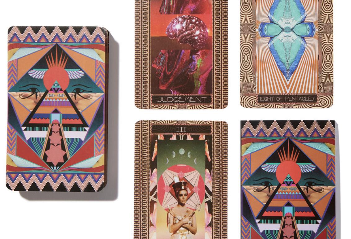 Serpentfire Tarot cards, available on Goop