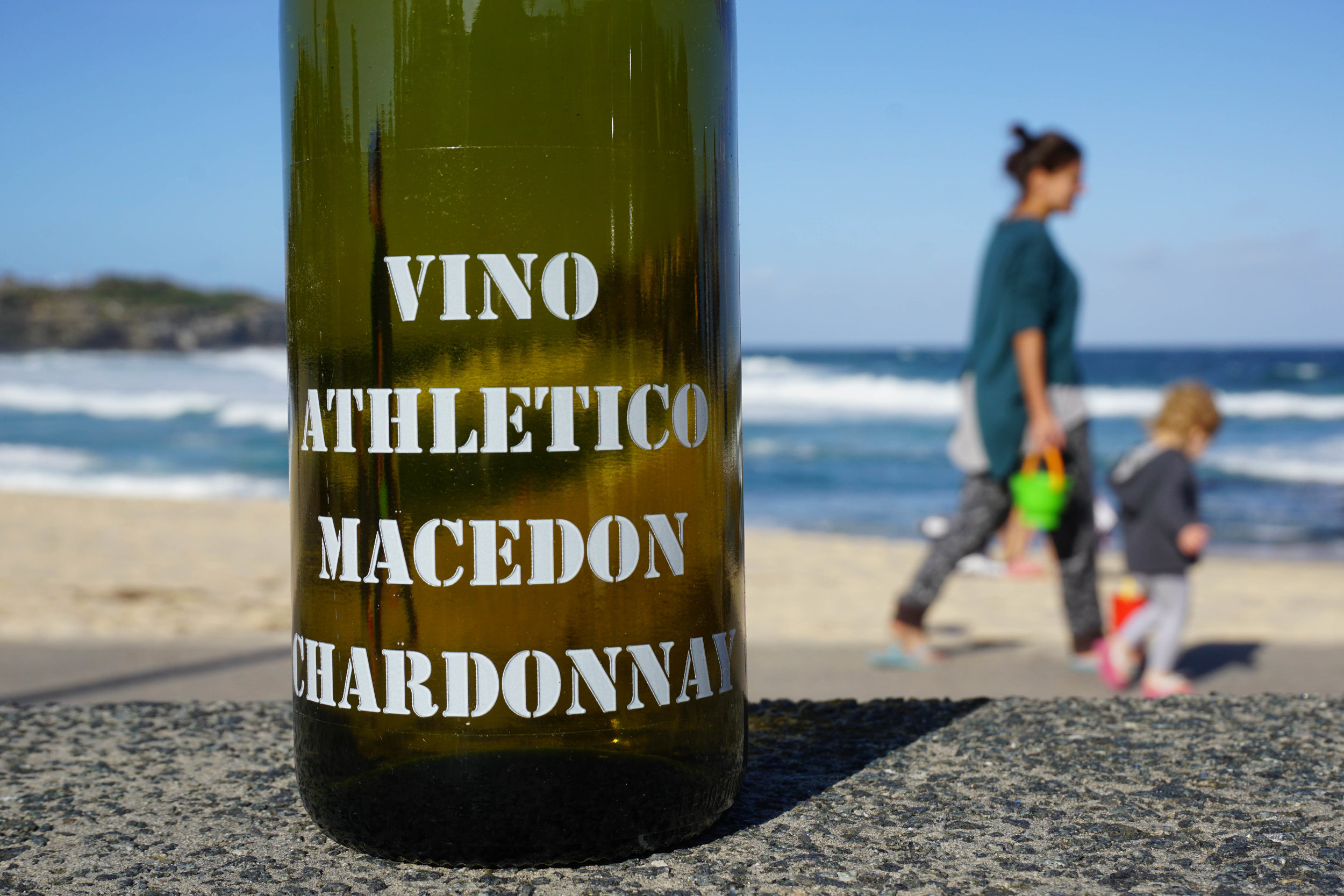 2016 Athletes Of Wine 'Vino Athlético' Chardonnay  Organic Practices  ineyards: 77% Kyneton and 23% Romsey, Macedon Ranges Harvest: 2nd and 3rd March; ave. 2.2 ton/acre     Wild yeast fermented and aged on lees in old hogsheads for 10 months; no battonage; no malo; bottled unfiltered and lightly fined. 60ppm total SO2  Total production: 287 dozen