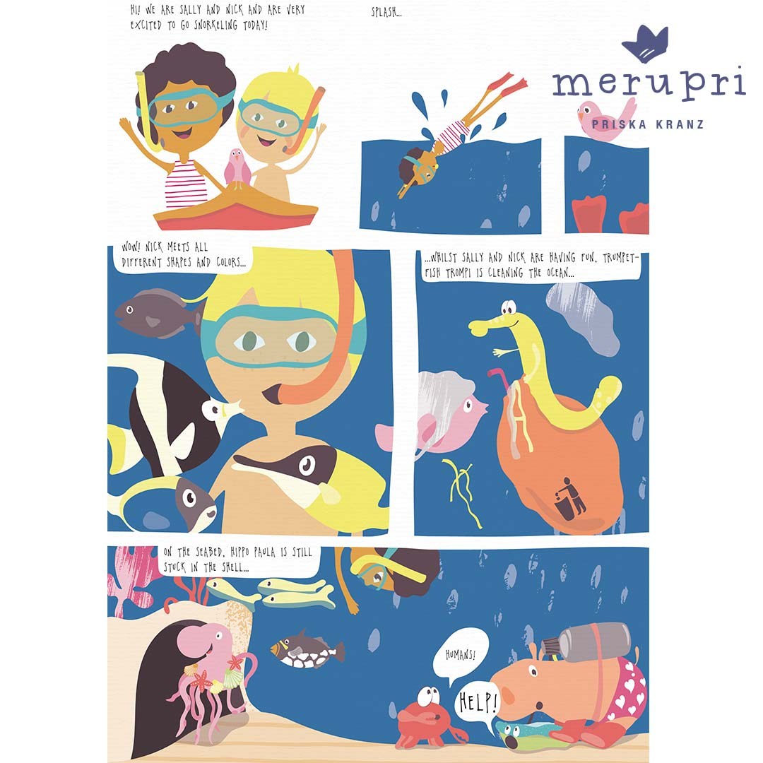 Graphic Novel for MATS Bootcamp assignment