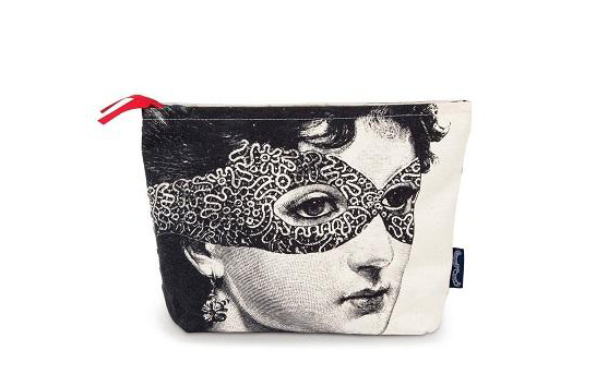 Chase and Wander- Lady in the Mask Wash Bag