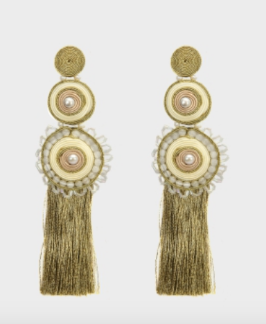 Musula Jewels Jordania Rose Earrings