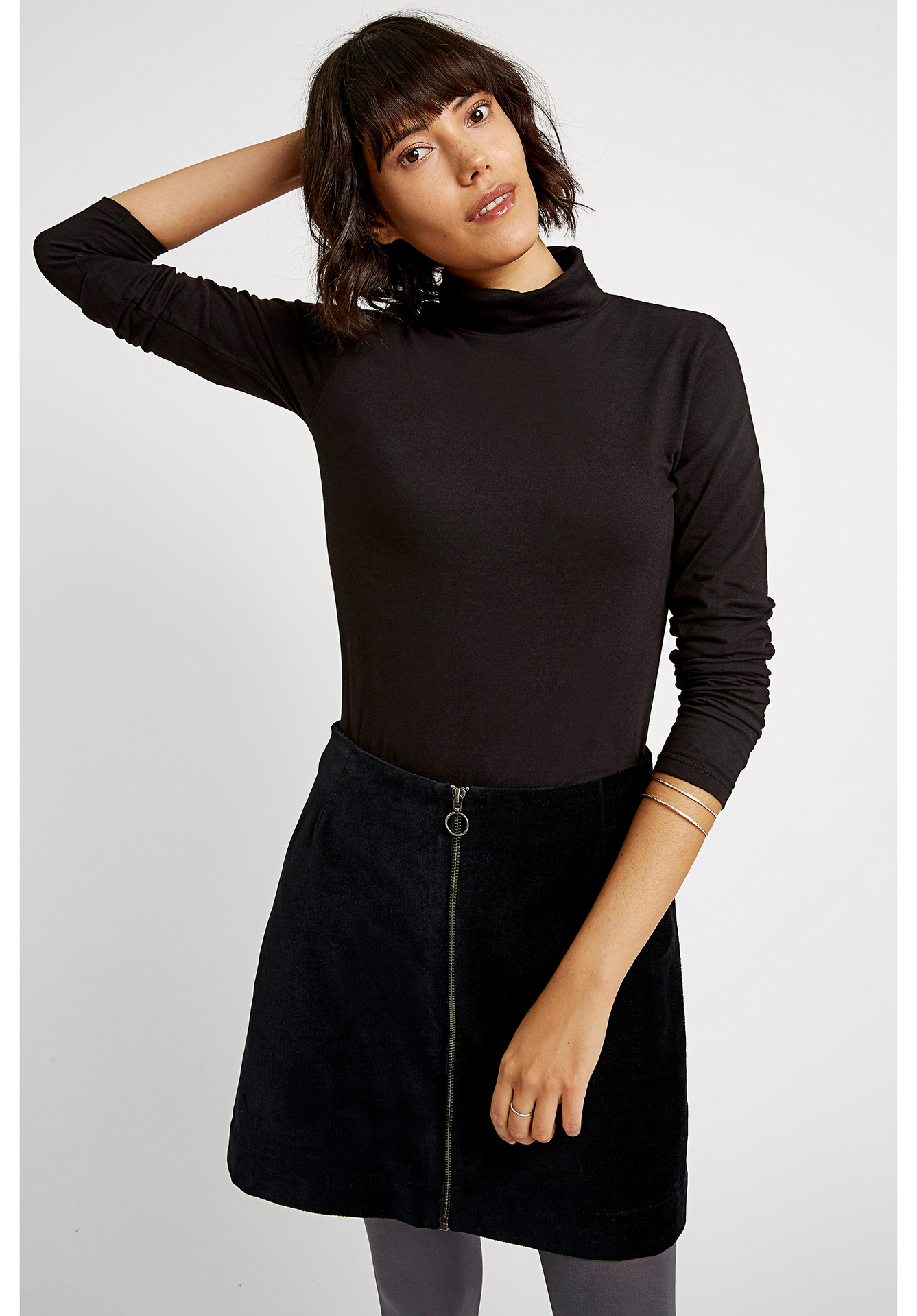 Peopletree Laila Roll Neck