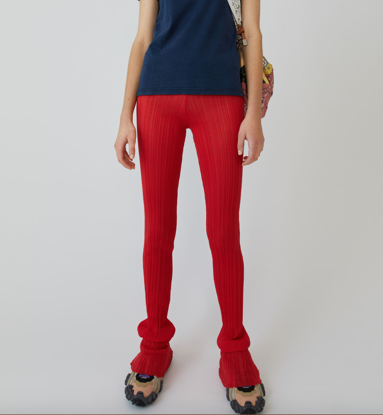 Acne Gerippte Leggings