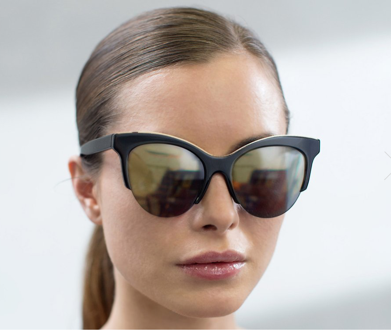 Vow London Cody Black Sunglasses