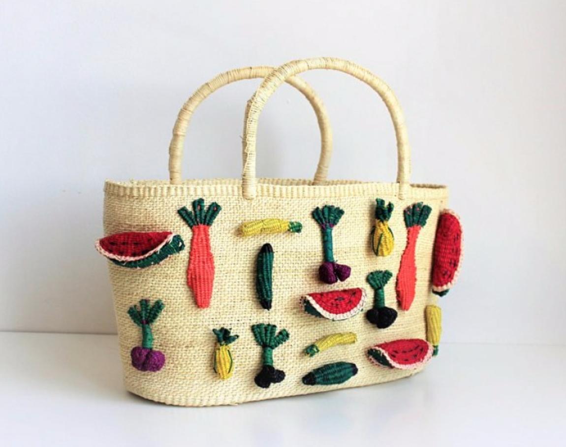 Maison Archives Emoji Basket Shopper