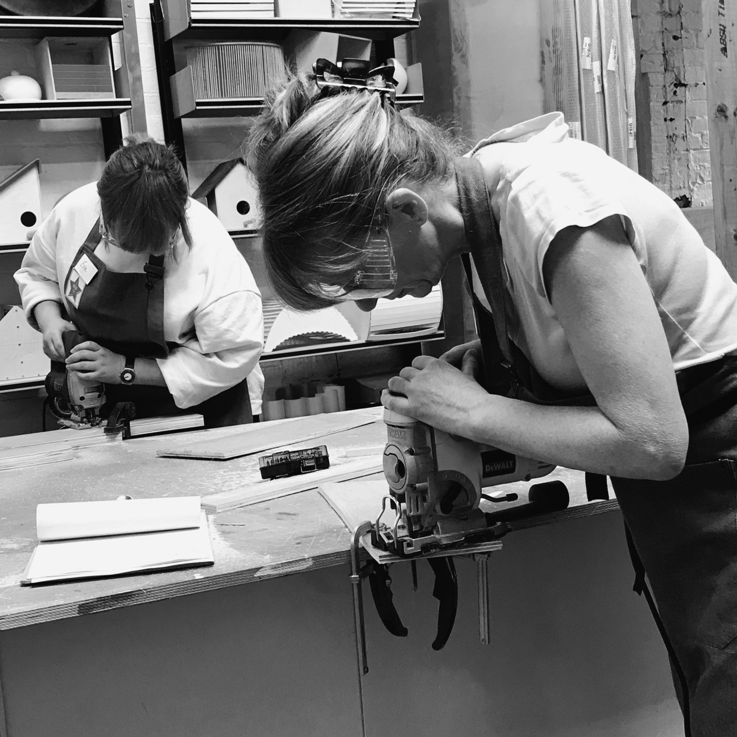 I made it  - girls with power tools at Dual Works 31.jpg