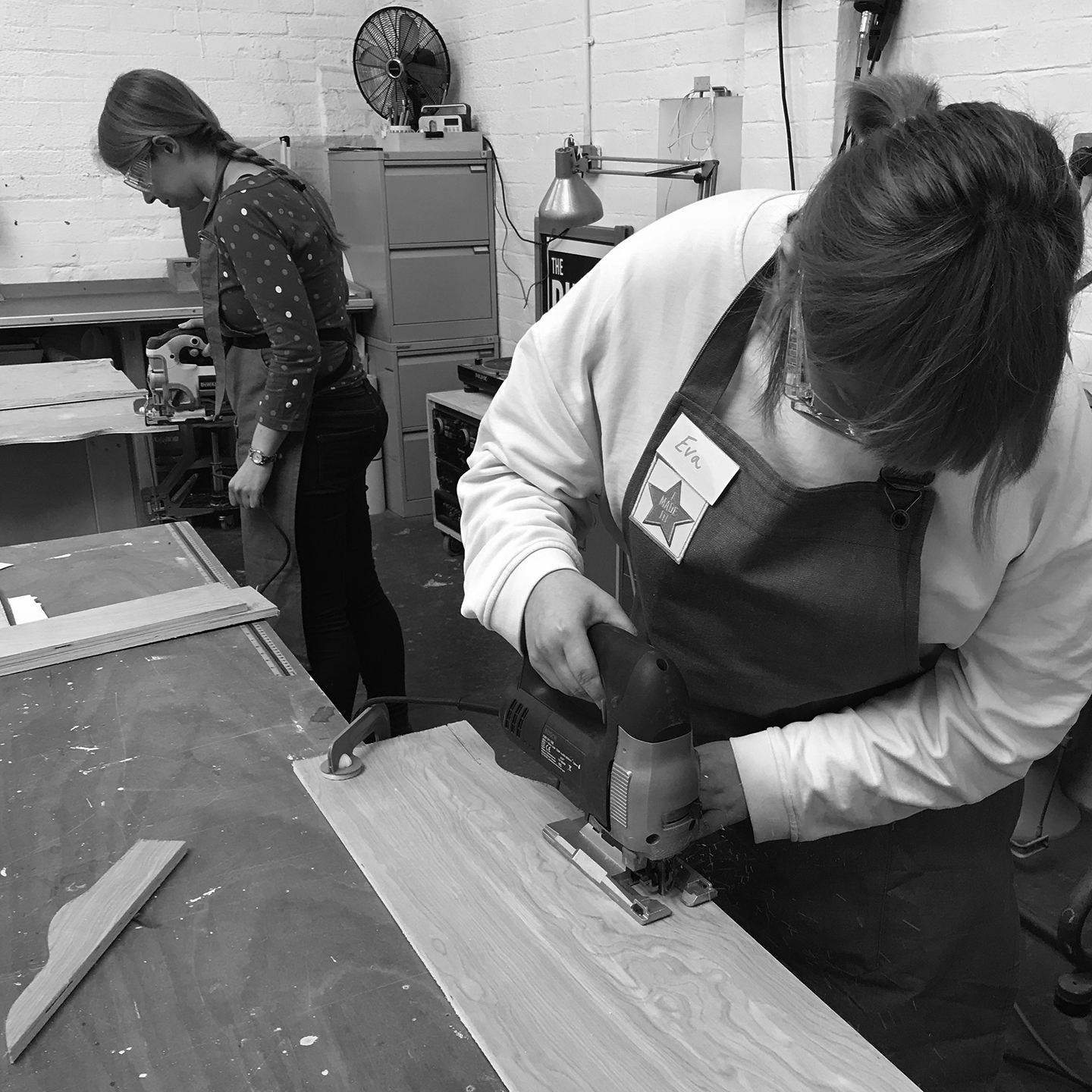 I made it  - girls with power tools at Dual Works 34.jpg