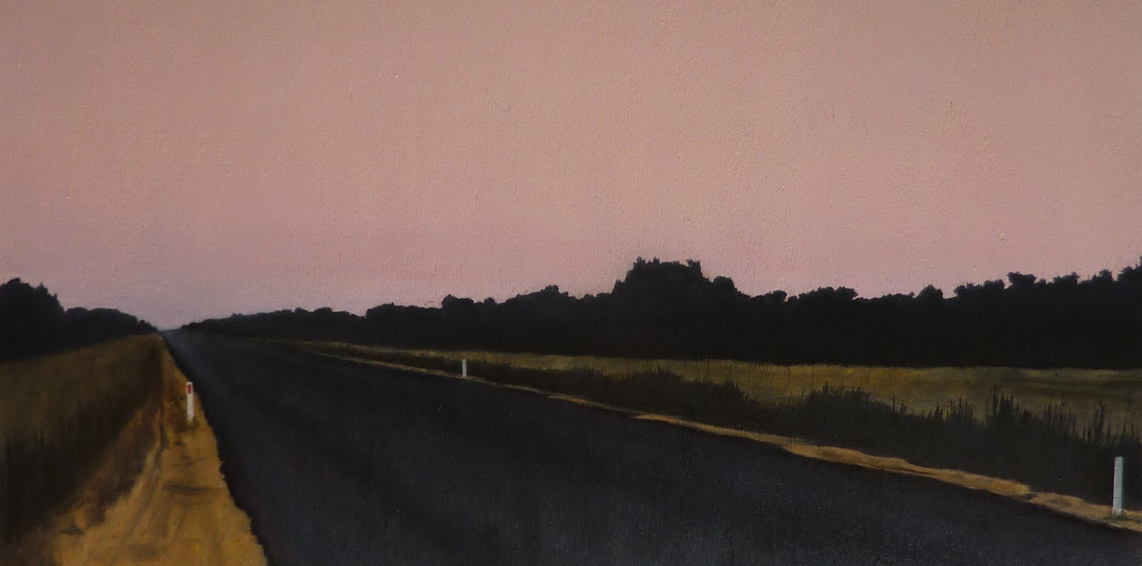 The Road at Dusk