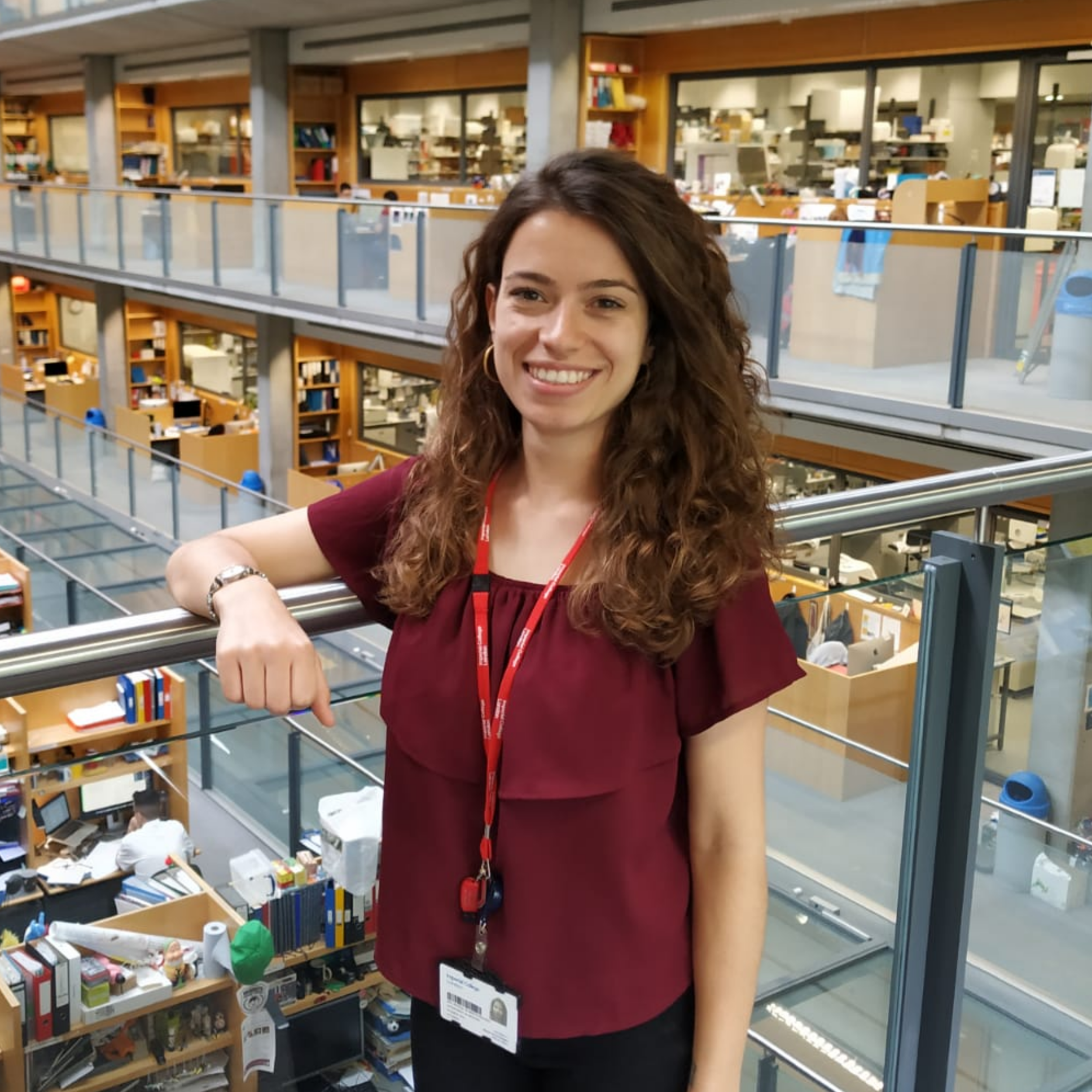Natalia de Martin Garrido   Natalia graduated in Biochemistry from the University of Barcelona, she is now a PhD student in Dr. Aylett's team who aims to obtain further insights on protein complexes involved in molecular pathways controlling cell growth using cutting-edge structural biology methods.
