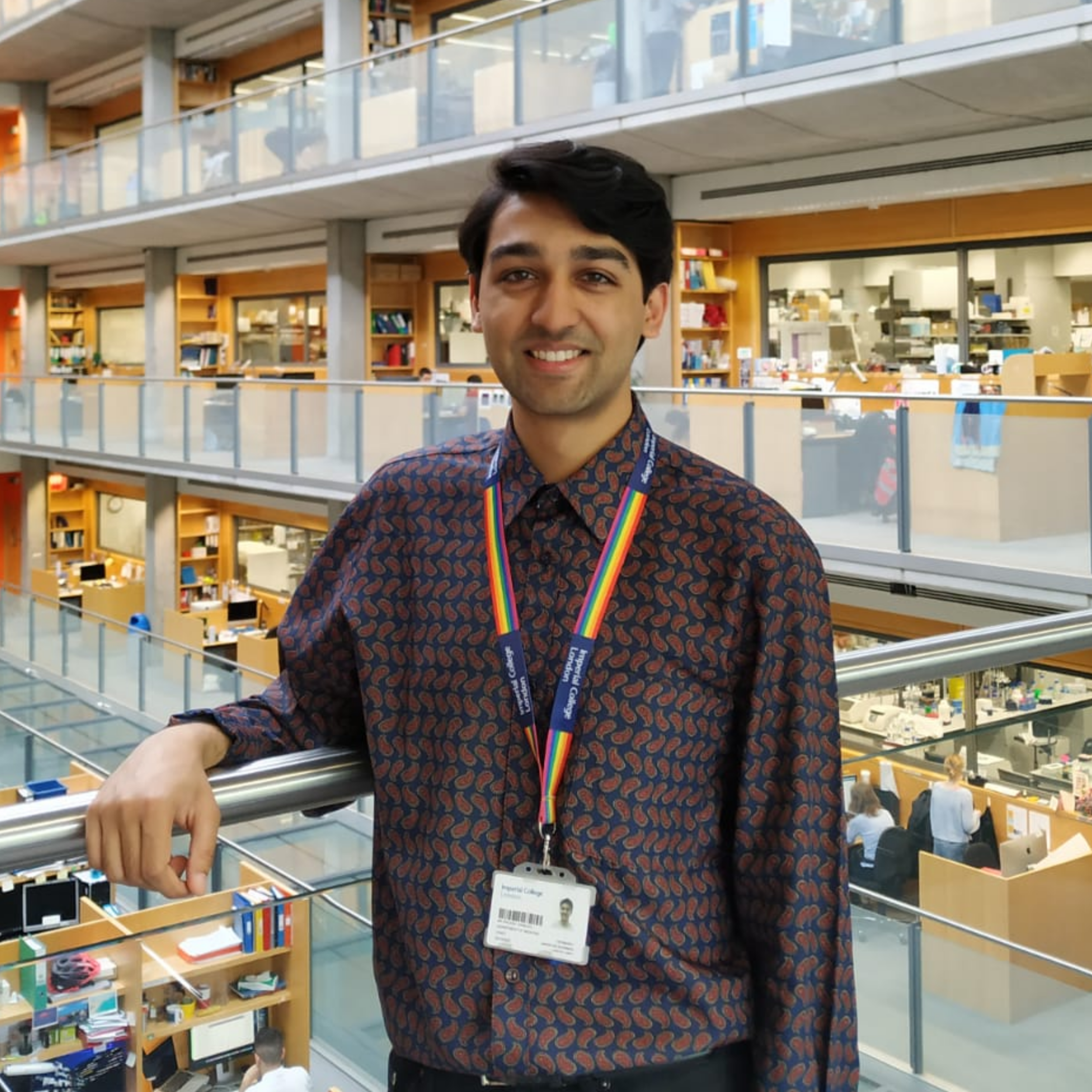 Kailash Ramlaul  Kailash is an Oxford Biochemistry graduate, now a research assistant and part-time PhD student at Imperial. He is using cryo-electron microscopy to structurally characterise protein complexes at the nexus of cell growth signalling.