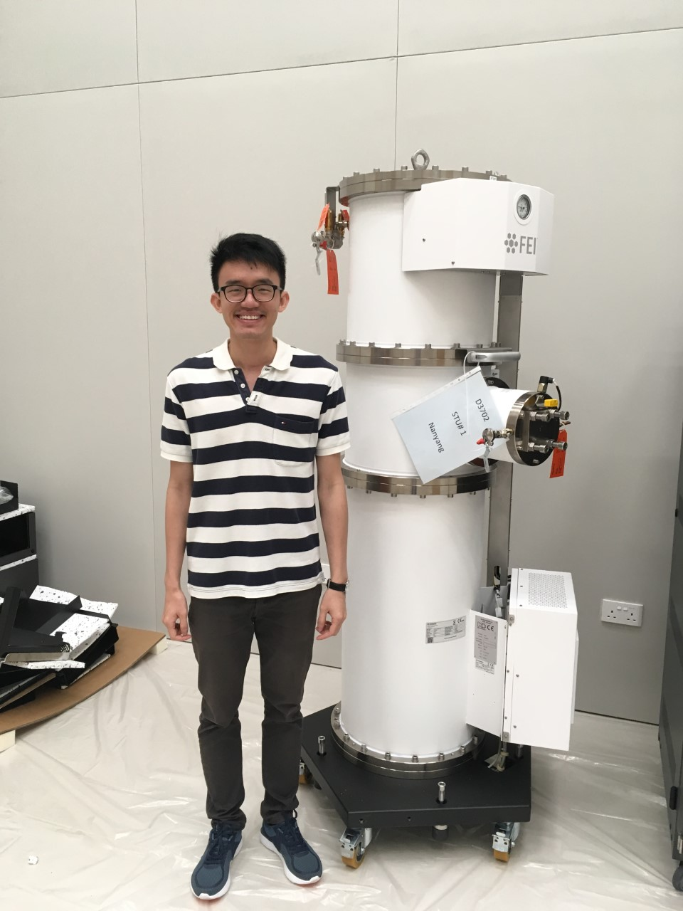 Eugene Chua Yue Dao  Using electron microscopy, biochemistry, and biophysical techniques to investigate chromatin remodellers of the INO80 family.