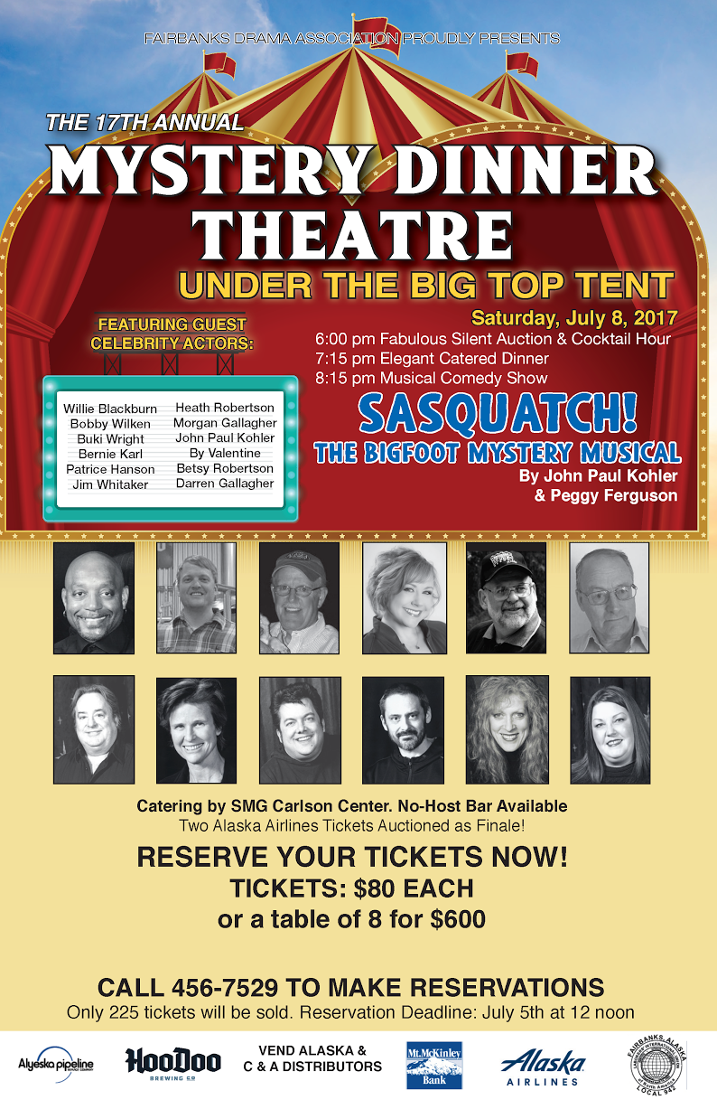 2017 Mystery Dinner Theatre Poster