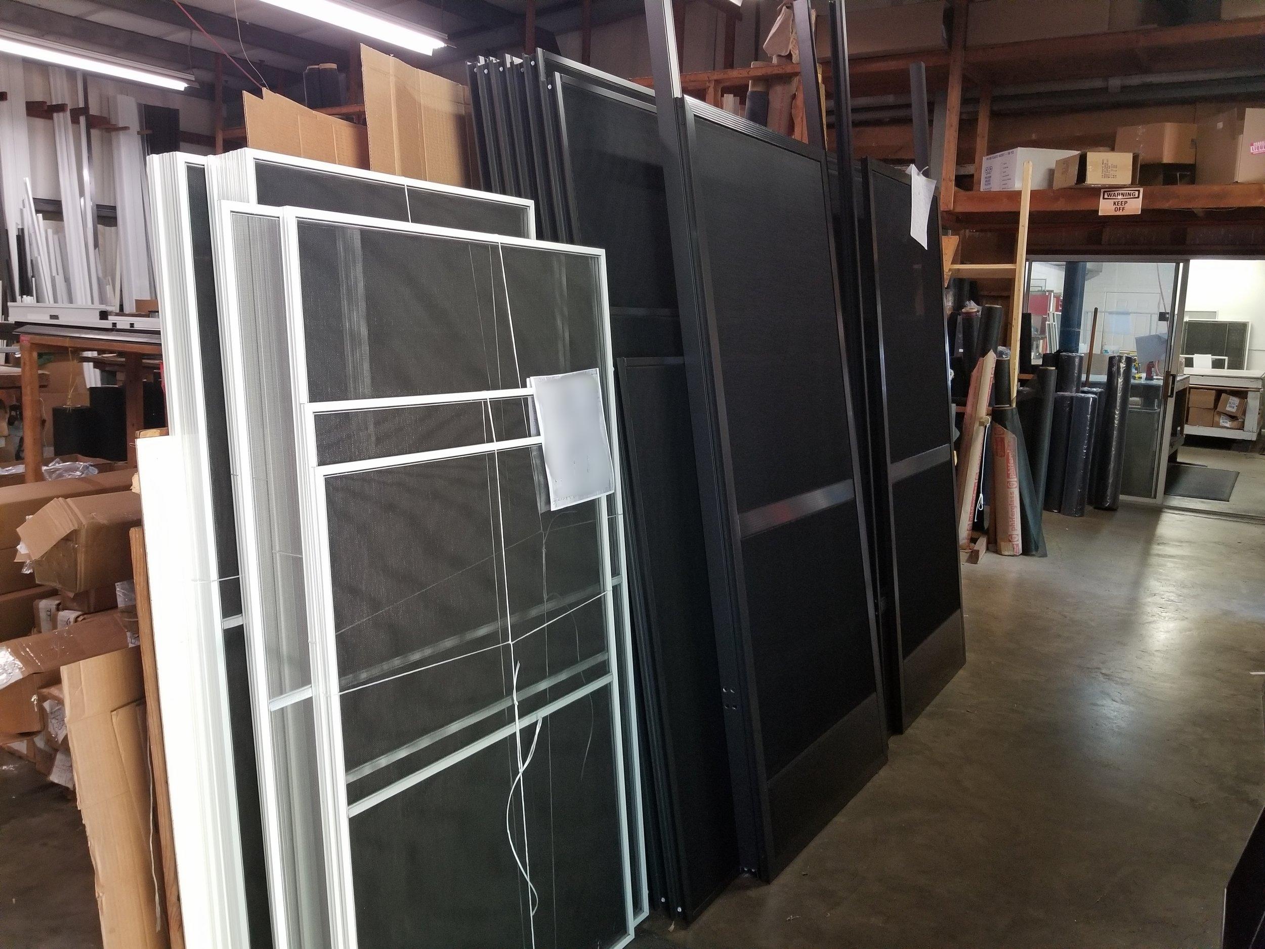 Window Screens Ready to Ship