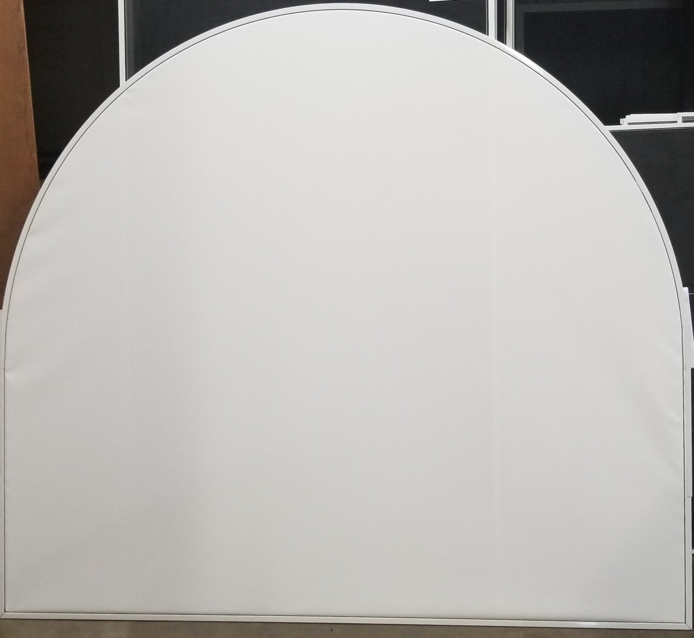 Arched Top Privacy Screen