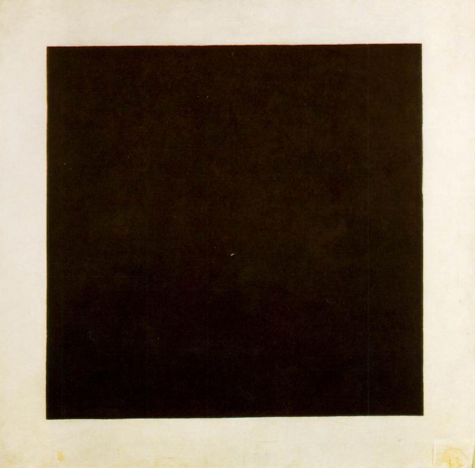 Kasimir Malevich's  Black Square
