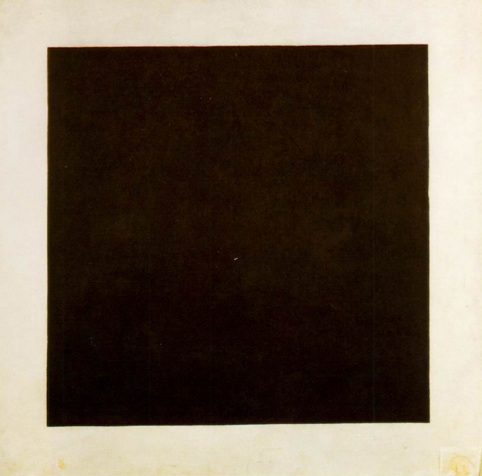 Kasimir Malevich's  Black Square