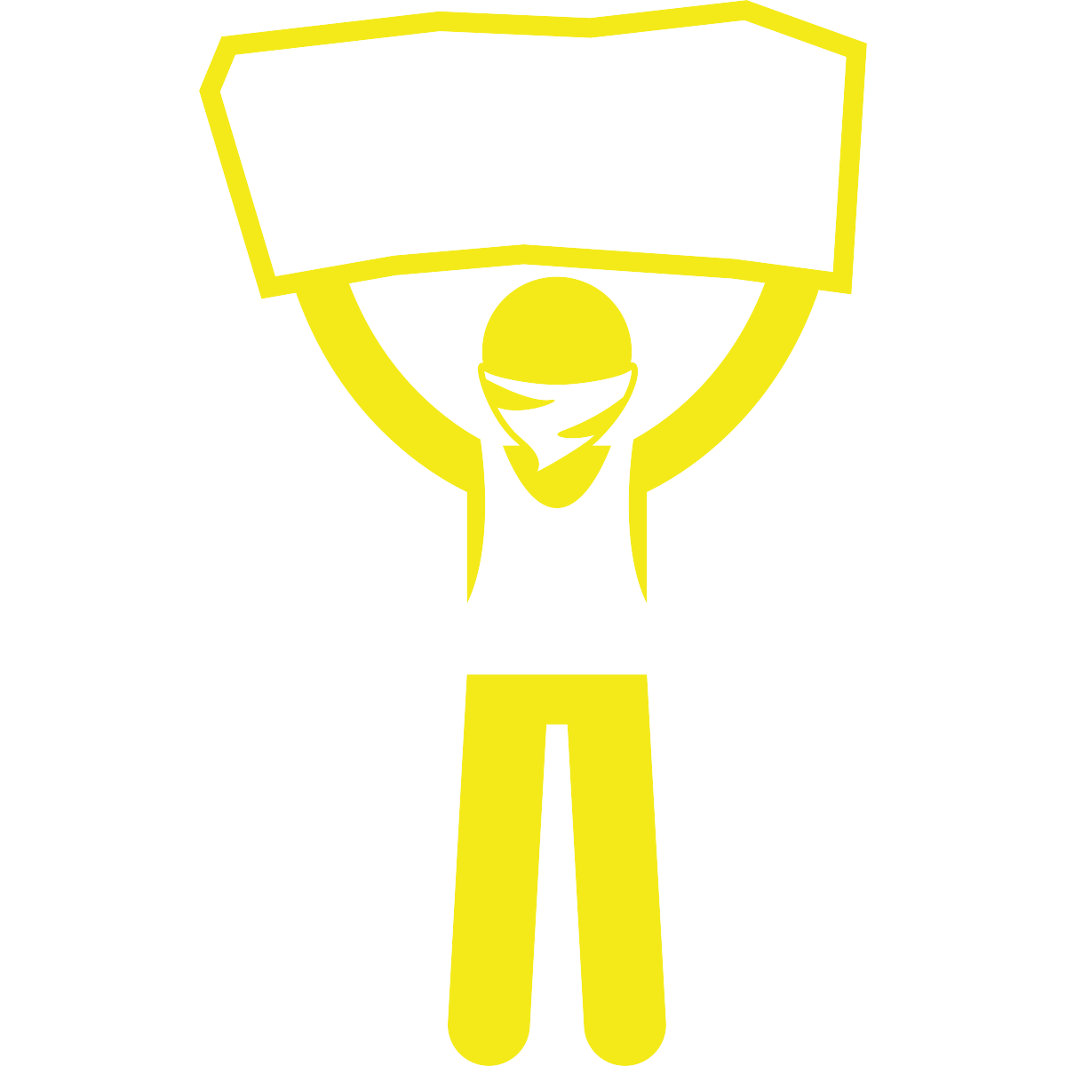 noun_Street Protester Holding Sign_1584249_f4ea1a.png