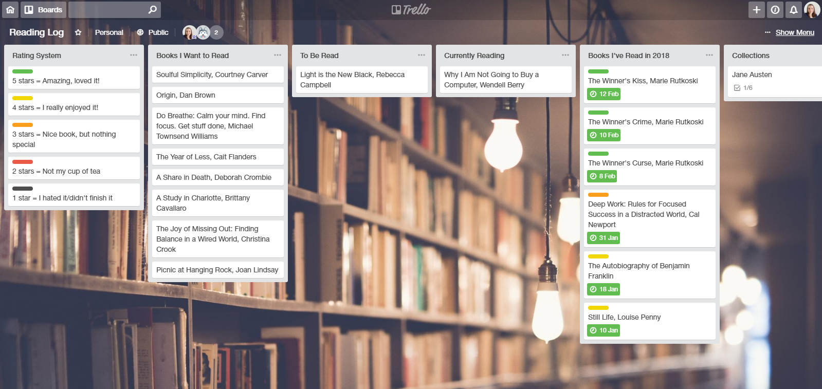 Trello Board Hobby Layout.PNG