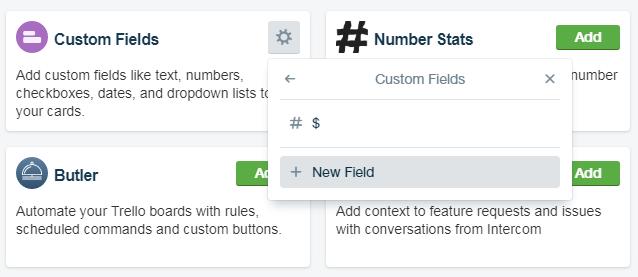 How to add more Trello Custom Fields