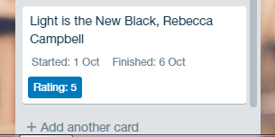 Trello Custom Field displayed to the front of cards