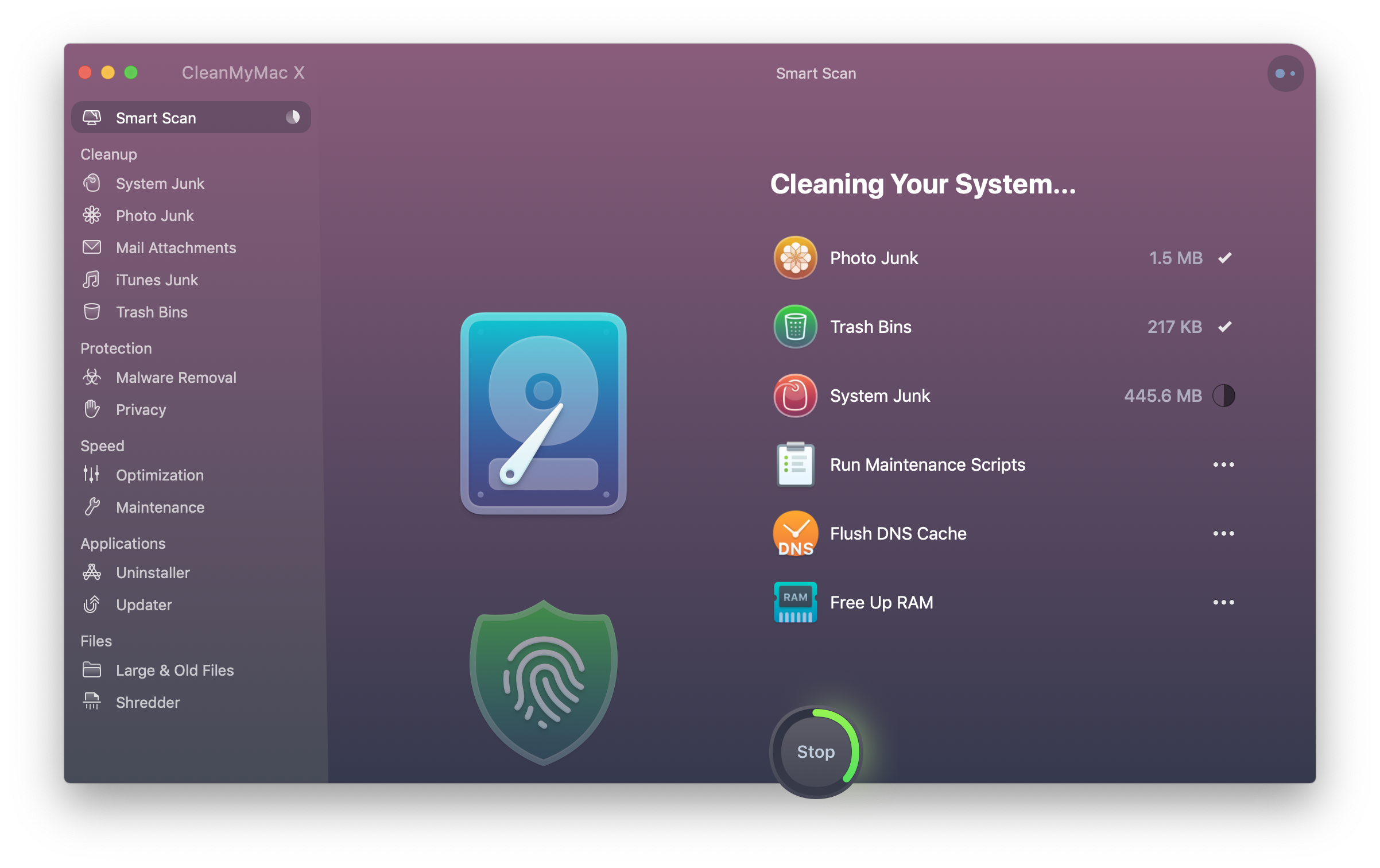 CleanMyMac Scanning Report.png