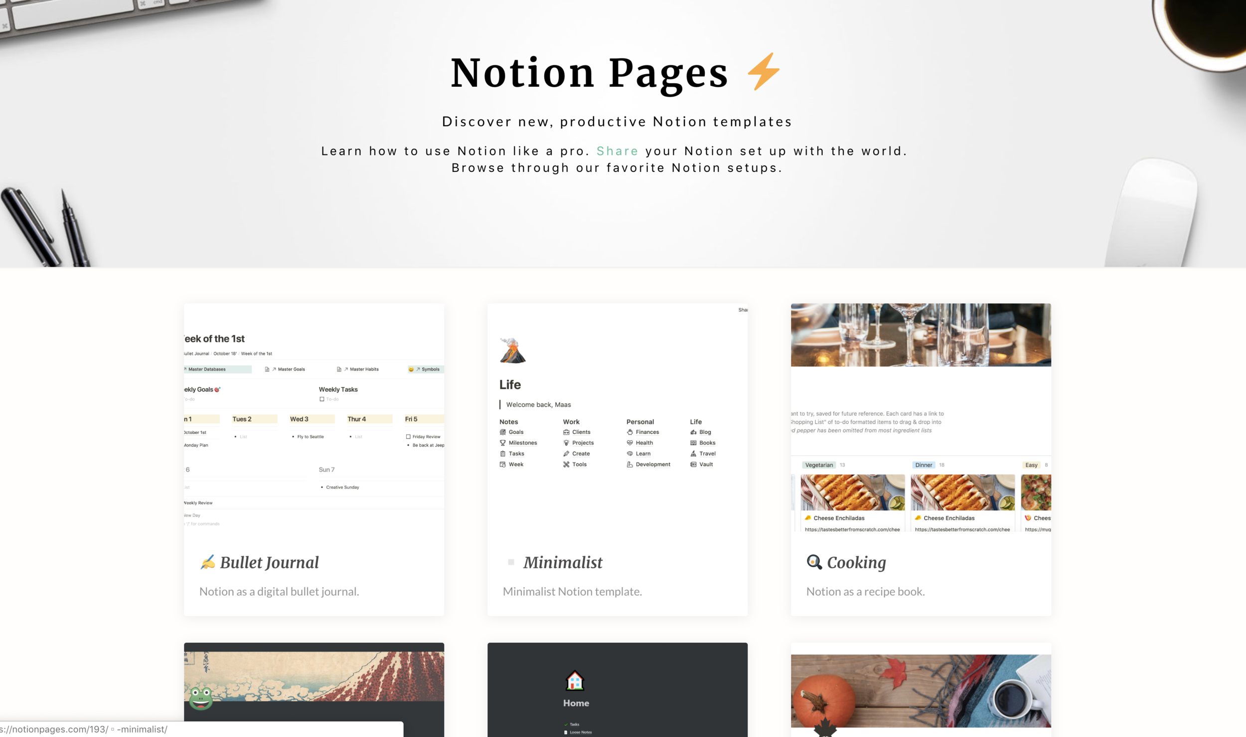 Notion Pages - for finding Notion inspiration.png
