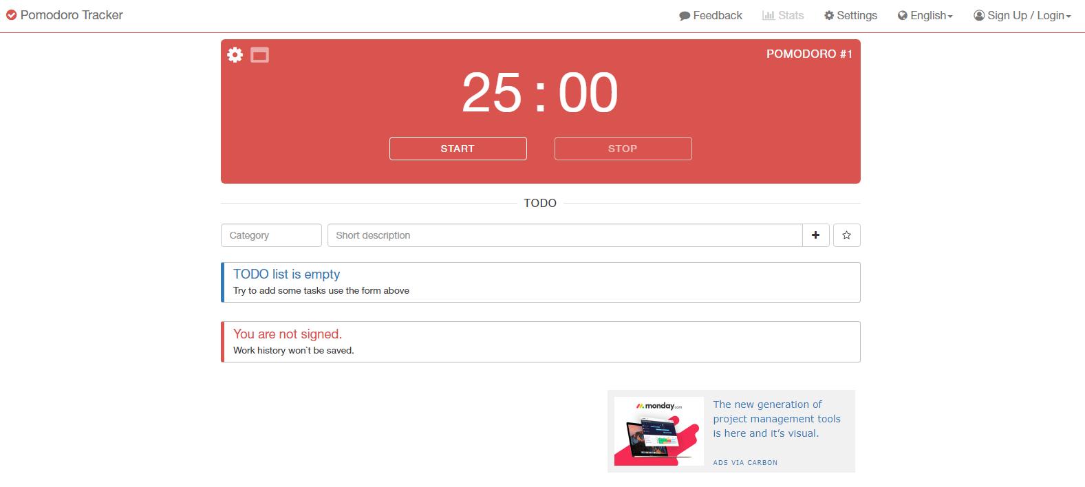 Pomodoro Tracker Pomodoro Timer App - Best to Try