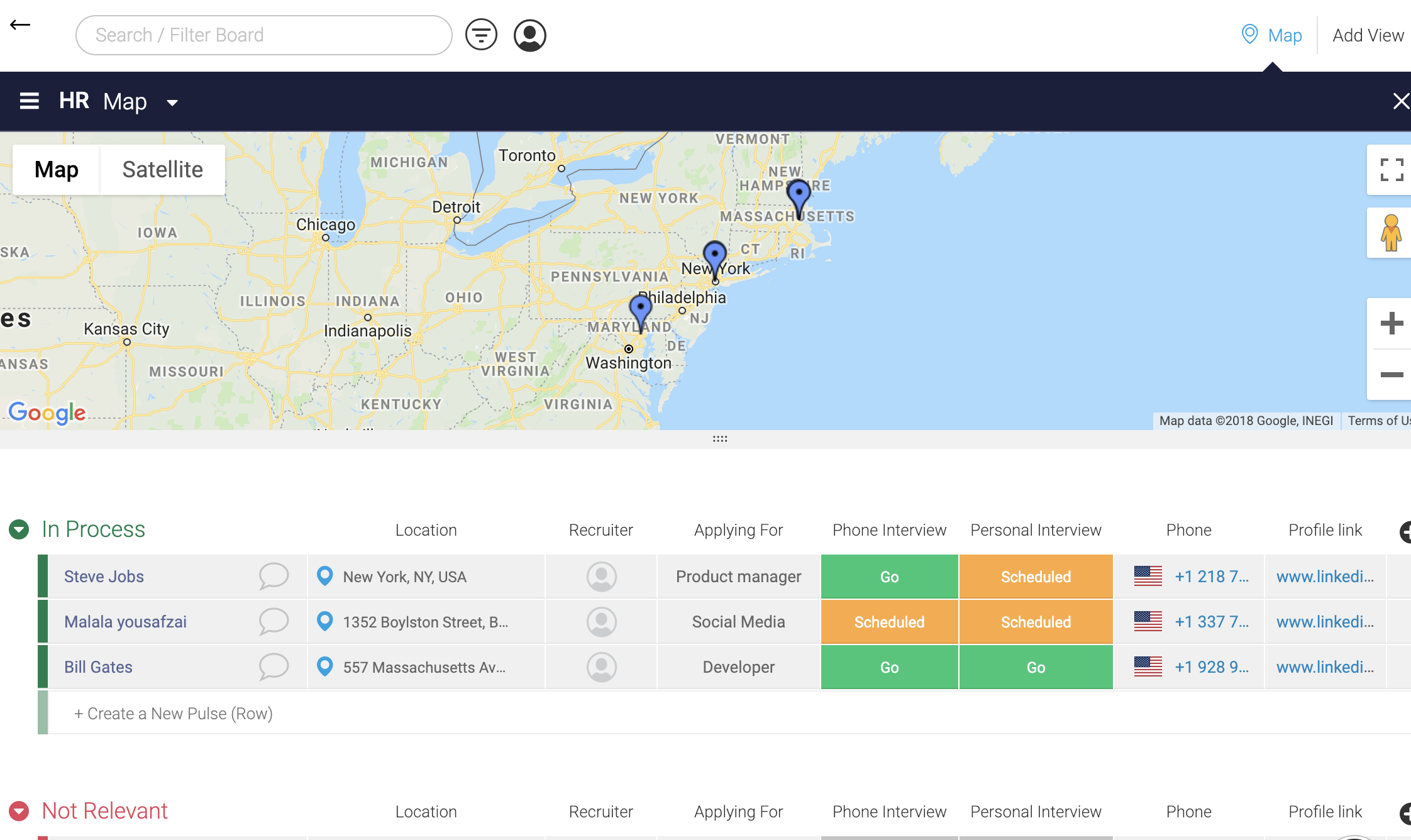 Map view- project managerpng
