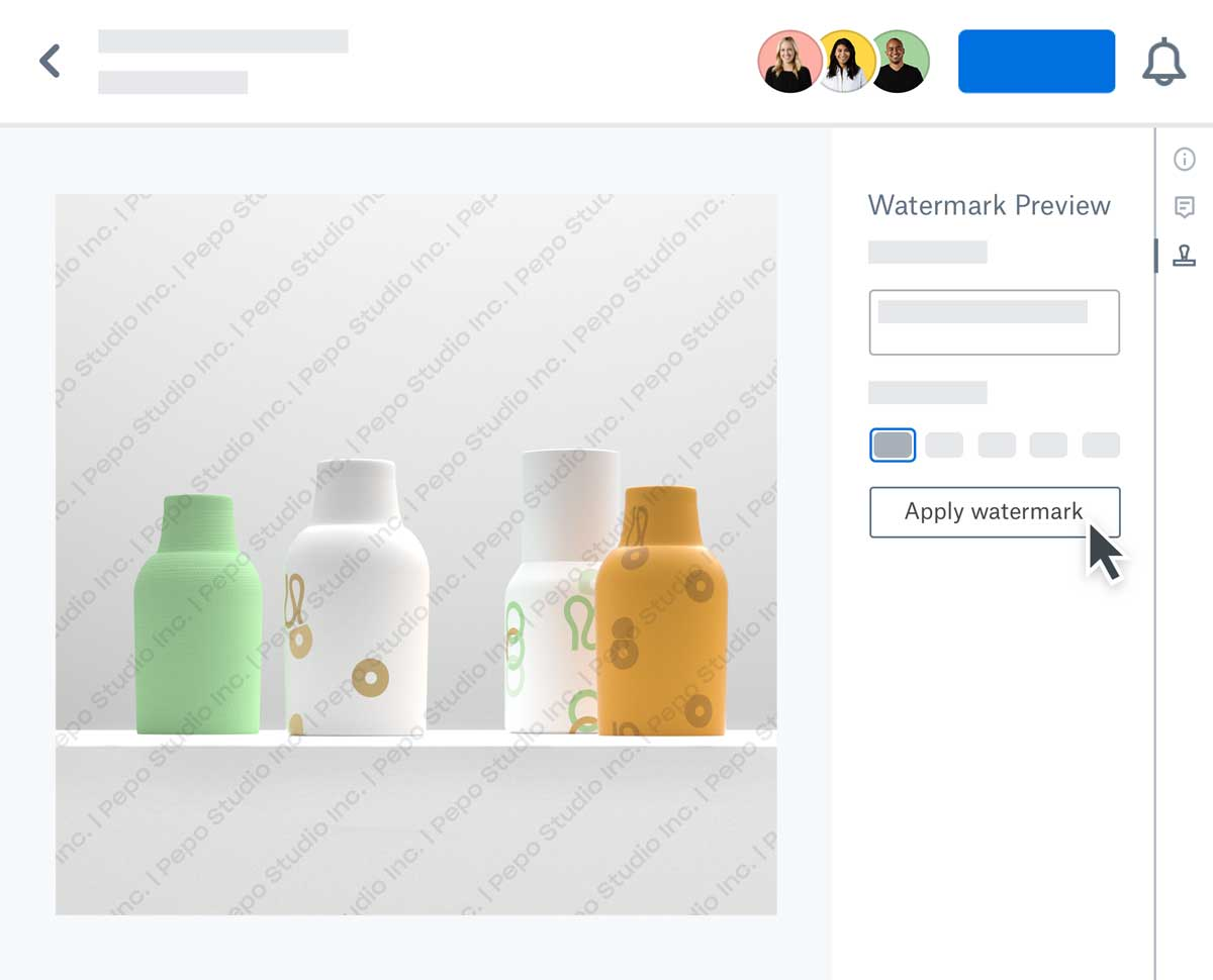 Dropbox introduces Watermarking