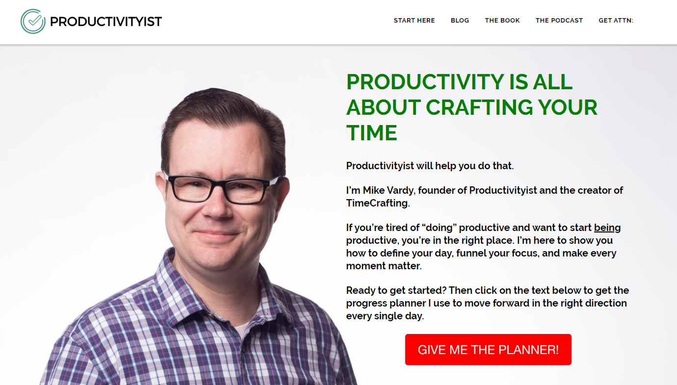 Productivityist - Top 5 Productivity Blogs to Follow in 2019