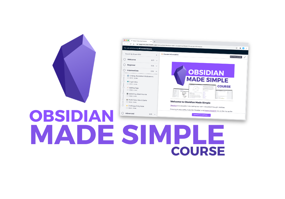 Obsidian Made Simple