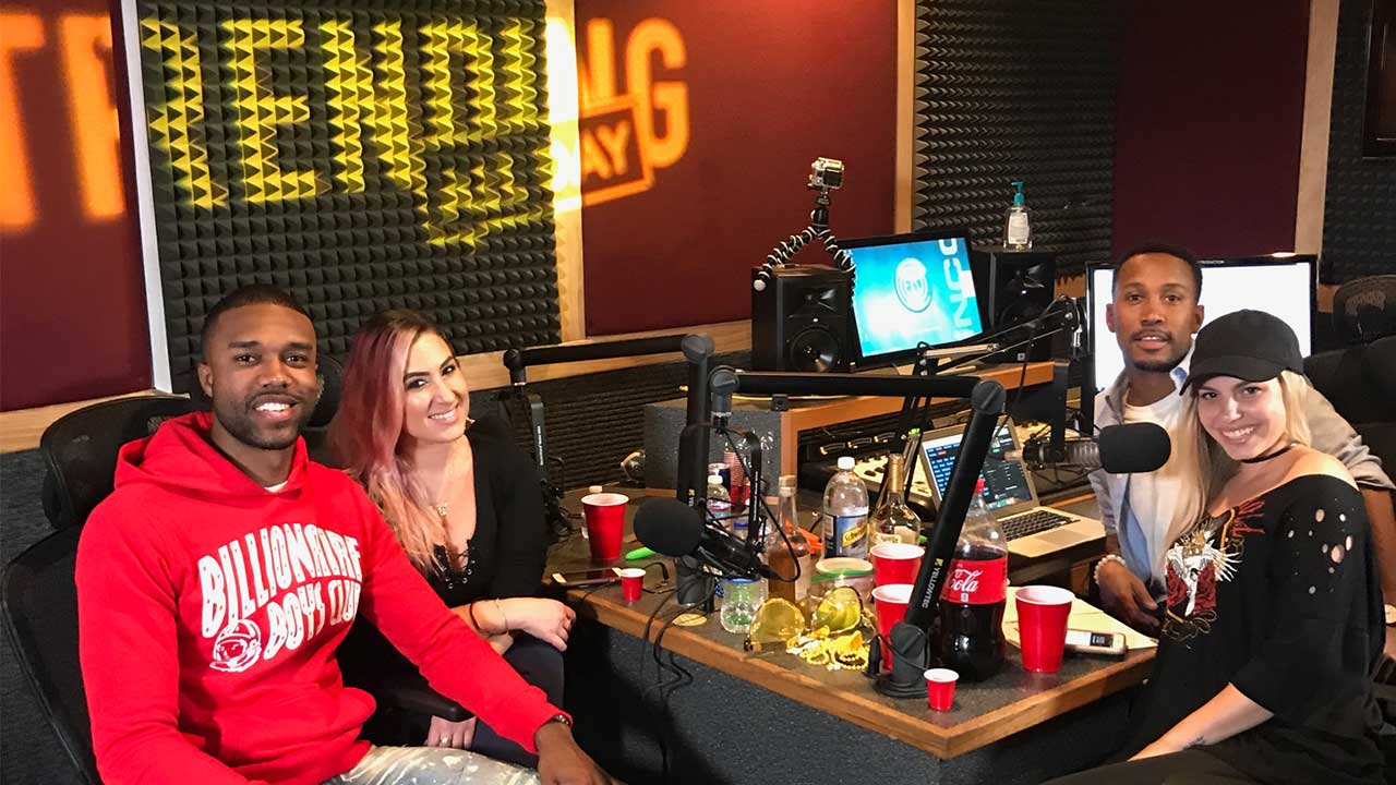 TAD Radio is here! - Brought to you by none other than Dash Radio of course, we're gettin lit in the studio with two of our favs, DeMario Jackson and our girl Nina's Makeup! DeMario talks about being the uh-oh baby and Nina talks about having sex at work, it's all kinds of levels over at TAD radio! CLICK HERE TO LISTEN!