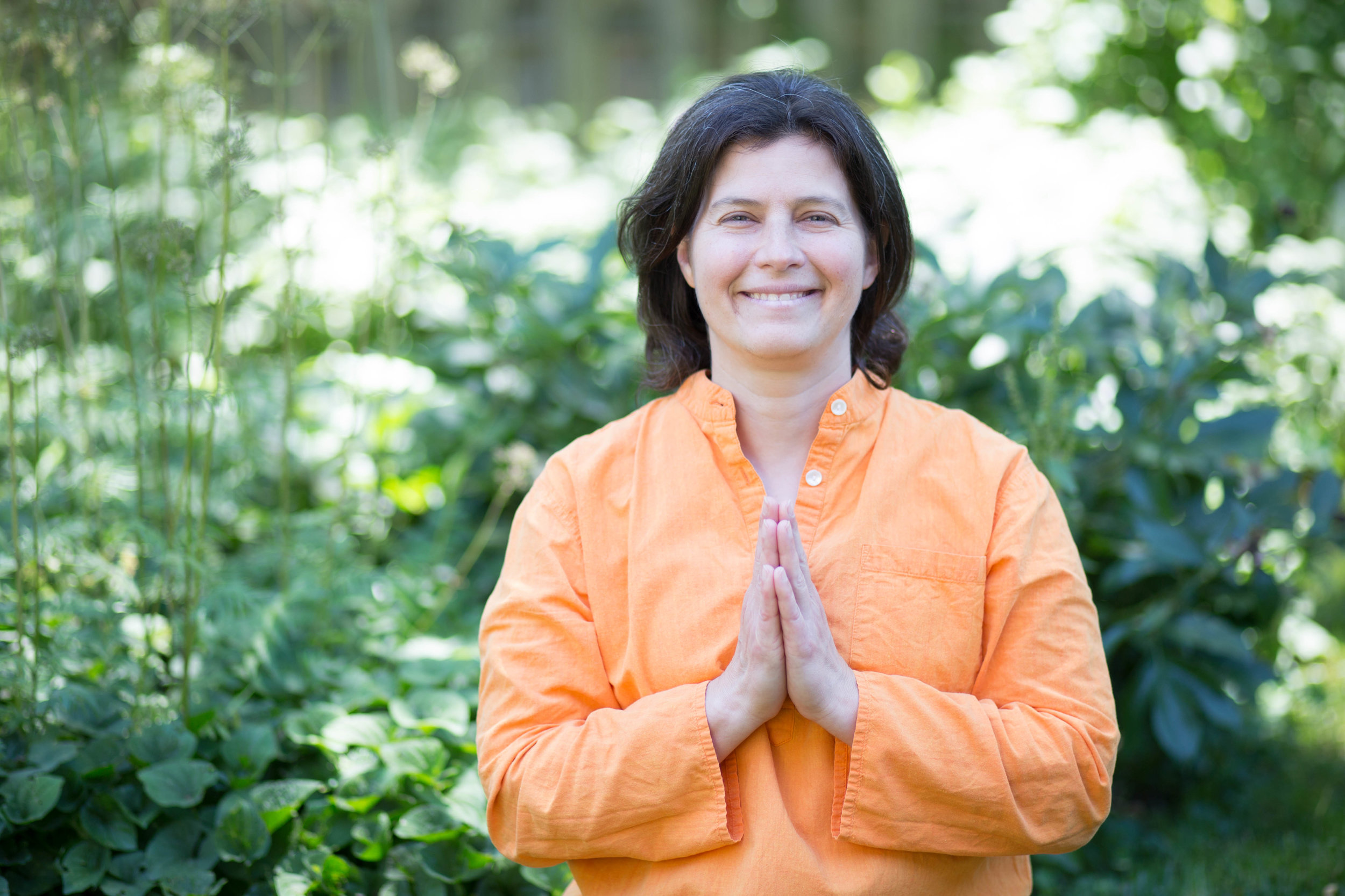 Atmadarshan (Laura Santoro) - teaches internationally on yoga, yoga psychology and the Bhagavad Gita. Her qualifications include ERYT-500, C-IAYT, YACEP, SY-AYT Level 2 and publication in the field of psychiatry. Learn more about Atmadarshan