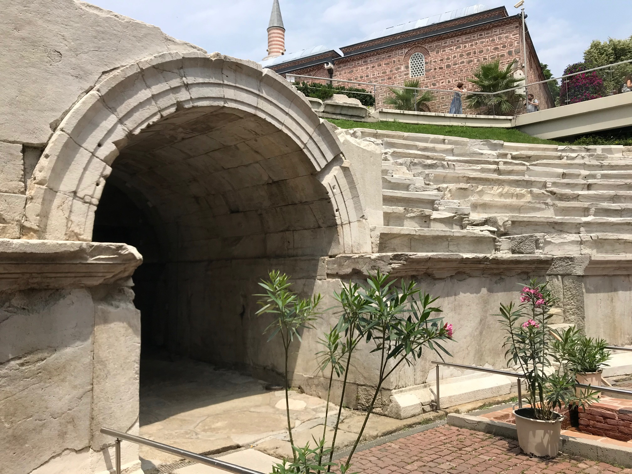 """Some of the ruins in Plovdiv are from the 100s. That's right, only 2 """"0""""'s."""