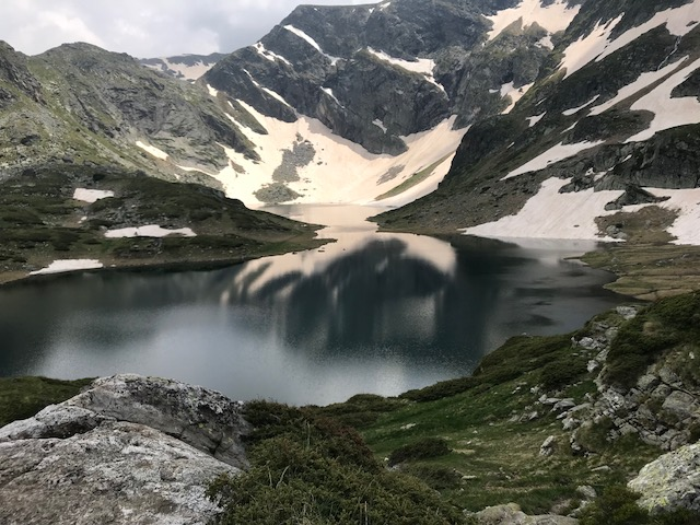 Mother Nature paints a landscape in the Rila Mountains of Bulgaria
