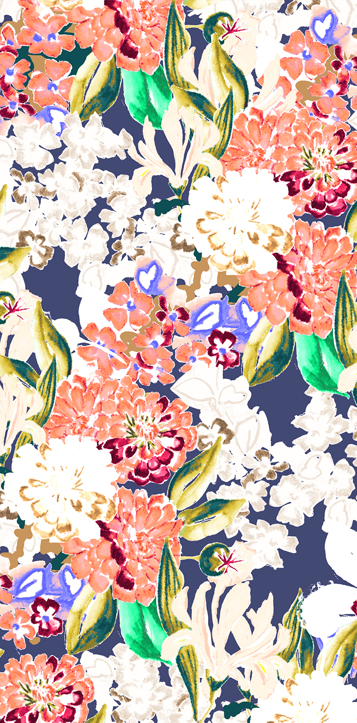 And Elle Textile Print Design Freelance Studio